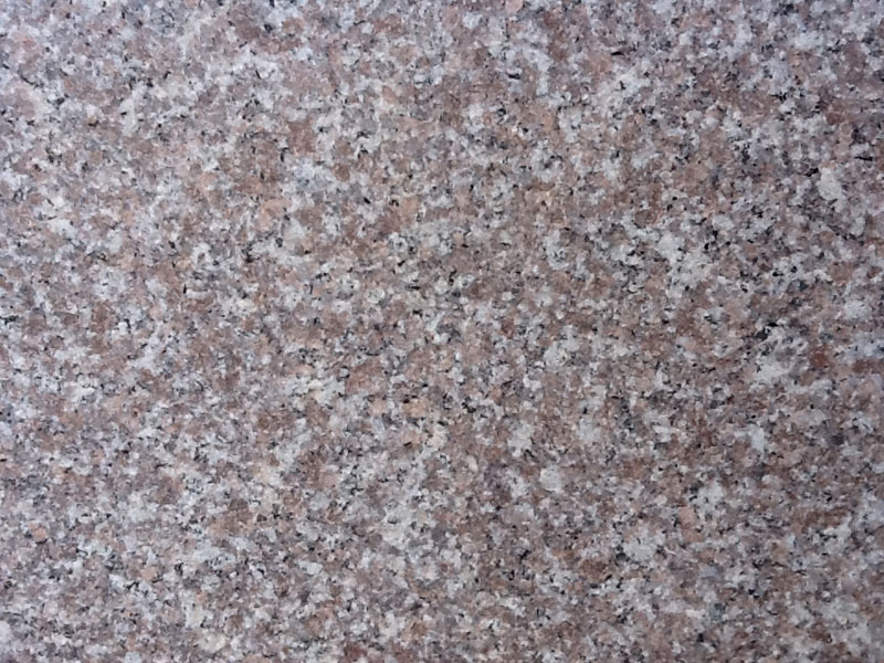 Red Granite Steps from Step by Step Granite Glasgow