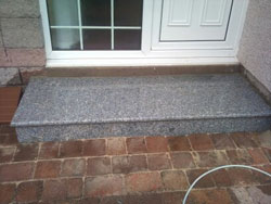 Granite Doorstep Made And Installed By Granite Step By Step Glasgow