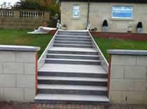 New Front Door Steps Lanarkshire door step tiles lanarkshire
