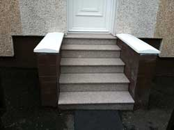 ew granite doorsteps from Step by Step Granite Glasgow